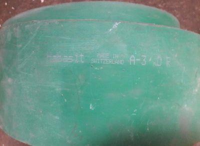 Curea lata A-3 1,48mx140mm - cu caneluri