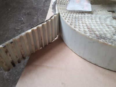 Curea poliamida cu insertie metalica T10 50mm BRECO - 6 metrii (pretul reprezinta 1 metru)