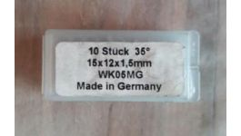 Cutit amovibil 15x12x1,5 WK05MG